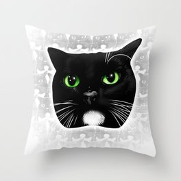 Porkchop III Throw Pillow