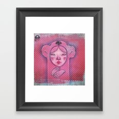 The ghost of you Framed Art Print