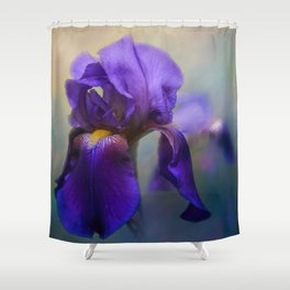 The First Iris Shower Curtain