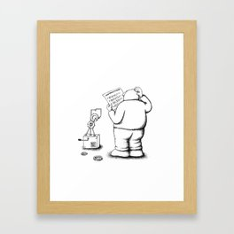 Instructions Framed Art Print