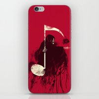 death note iPhone & iPod Skins featuring Death Note by Tobe Fonseca