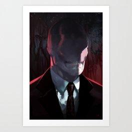 Slender Man Art Print