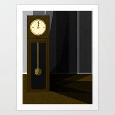 Just After Midnight Art Print