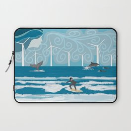 Harmony with the Sea Laptop Sleeve