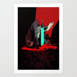 Ludwig the Holy Blade Art Print