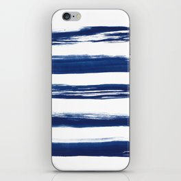 Indigo Brush Strokes | No. 2 iPhone Skin