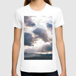 Hot Air Ballon Festival Sunrise T-shirt