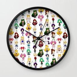 Fighting Evil by MOONLIGHT Wall Clock