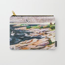 Sea bay in Finland Aland Carry-All Pouch