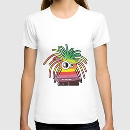 Funny color monster.  T-shirt