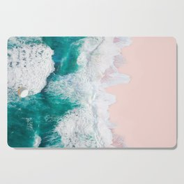 Pink Sand Beach Cutting Board