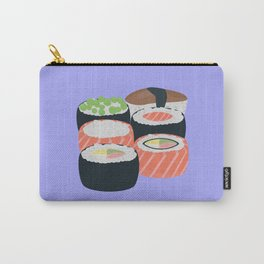 Set of different Sushi rolls Carry-All Pouch