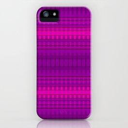 Linear Magenta iPhone Case
