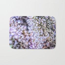 Top Shelf Grand Daddy Purple Close Up Buds Trichomes View Bath Mat