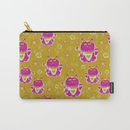 Oriental happy lucky cats Carry-All Pouch