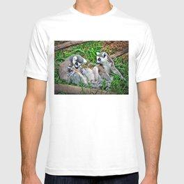 The Lemur Family  T-shirt