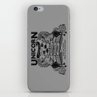 boxing iPhone & iPod Skins featuring Unicorn Boxing by Kellabell9