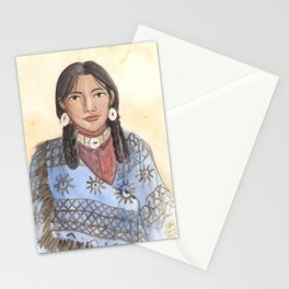 Her Mother's Blanket Stationery Cards