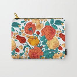 Vintage flower garden Carry-All Pouch