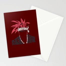 renji abarai bleach Stationery Cards