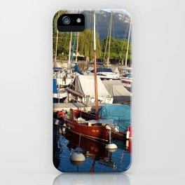 Yachts II iPhone Case