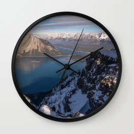 Kananaskis Improvement District Alberta Canada Ultra HD Wall Clock