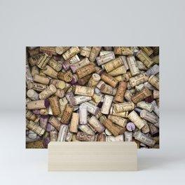 Fine Wine Corks Mini Art Print