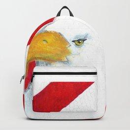 Eagle And Flag Backpack