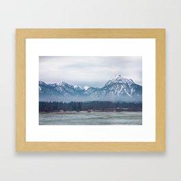 Bavrian Alps Framed Art Print