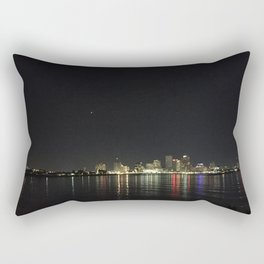 NEW ORLEANS at NIGHT Rectangular Pillow