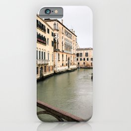 The canals of Venice | Italy | Europe | Travel photography iPhone Case