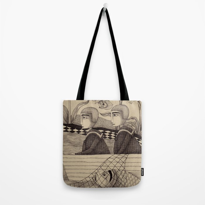 The Golden Fish (2) Tote Bag