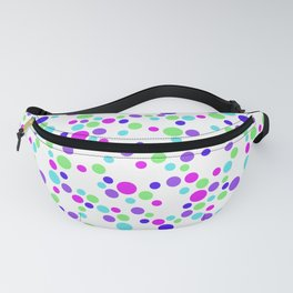 Polka Dot Party: Web of Bright Dots Fanny Pack