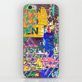 Tropical Pop Art Painting iPhone Skin