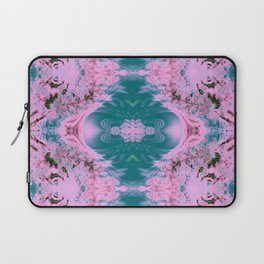 Japanese Water Gardens Fractal Abstract Laptop Sleeve