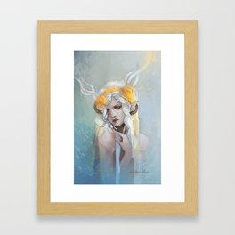 Ghilan'nain, Mother of the Halla Framed Art Print