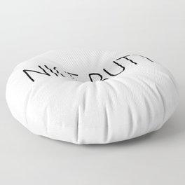Nice Butt White Floor Pillow