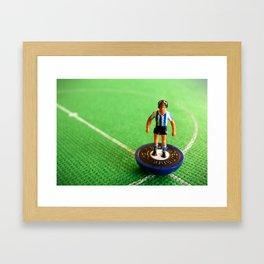 Sheffield Wednesday Subbuteo Player 1991 Framed Art Print