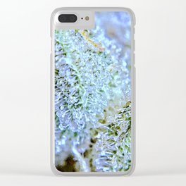 Blanket of Trichomes Clear iPhone Case