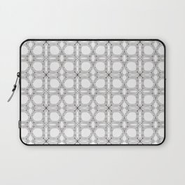 Poplar wood fibre walls electron microscopy pattern Laptop Sleeve