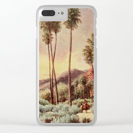 Bagg, Henry H. (1852-1928) - On Sunset Highways 1921 - Palm Canyon, California Clear iPhone Case