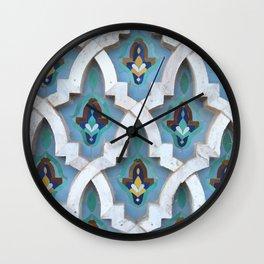 Marocco Pattern Mosaic Wall Clock