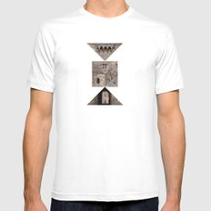 ROOK Mens Fitted Tee SMALL White