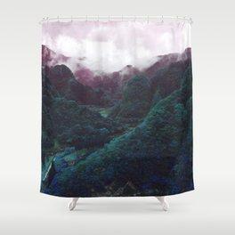 Hometown Valley ~Keikoku~ Shower Curtain