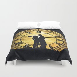 Through Time and Space Duvet Cover