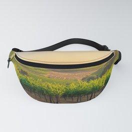 Golden Vineyard  panorama Fanny Pack