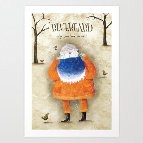 Bluebeard Art Print