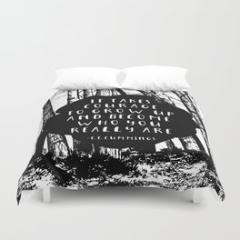 Courage (Designed for The YA Chronicles) Duvet Cover