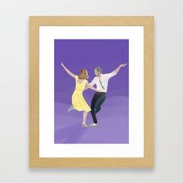 Lala Land A Lovely Night Framed Art Print