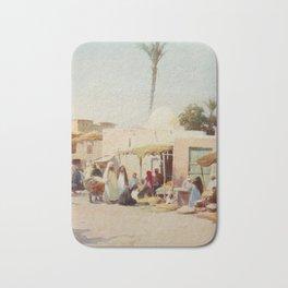 Kelly, Robert Talbot (1861-1934) - Egypt 1903, A corner in the market-place Bath Mat